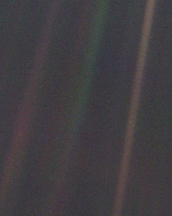 'Pale Blue Dot'
