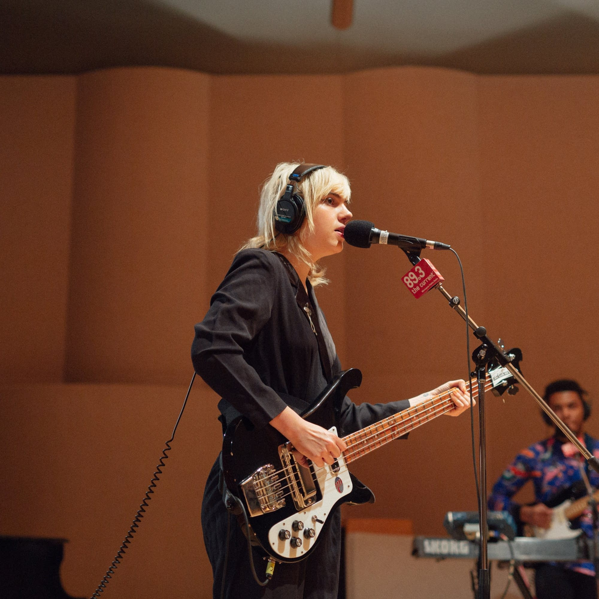 Sunflower Bean perform in The Current studio