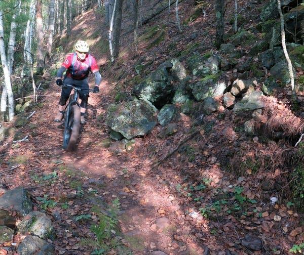 John Schaubach rides the red dirt