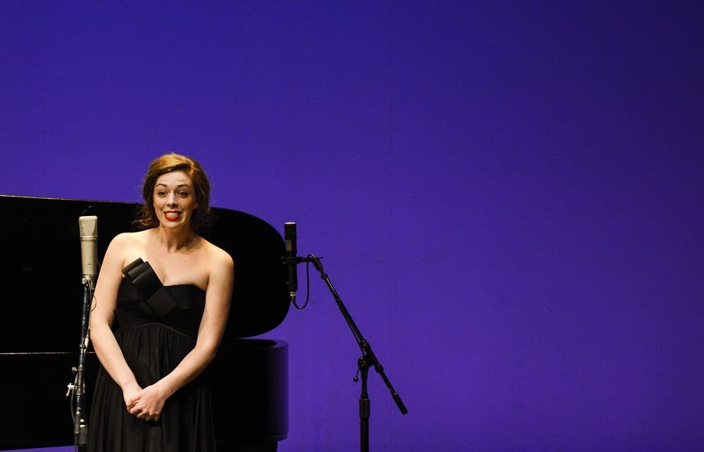Vocalist Kristina Butler