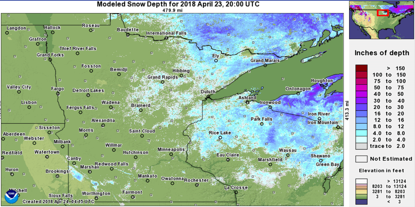 Disappearing snow and frost; 70s again by Sunday | MPR News