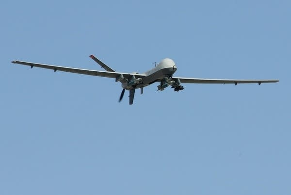 Reaper Aircraft Flies Without Pilot From Creech AF