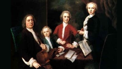 71dcaa 20151001 js bach with three of his sons