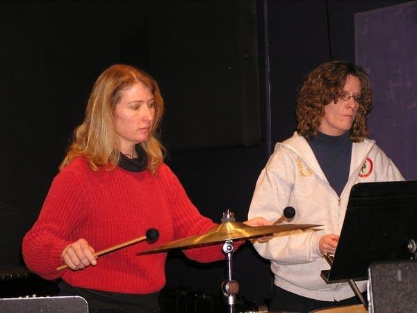 Heather Barringer and Patti Cudd