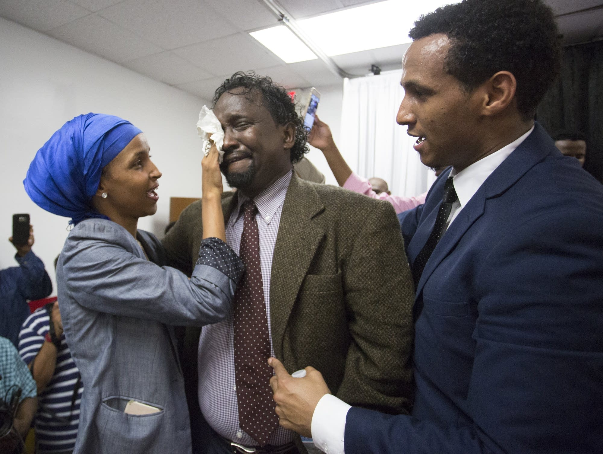 Photos: Ilhan Omar and supporters celebrate primary ...Ilhan Omar Husband