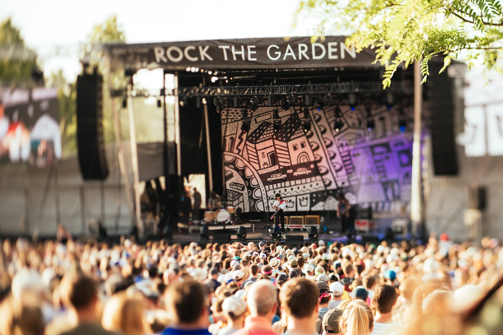 Courtney Barnett performs at Rock The Garden 2019