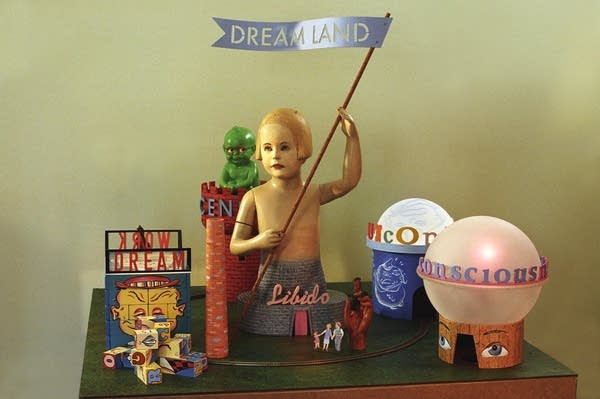 Model of proposed Dreamland amusement park
