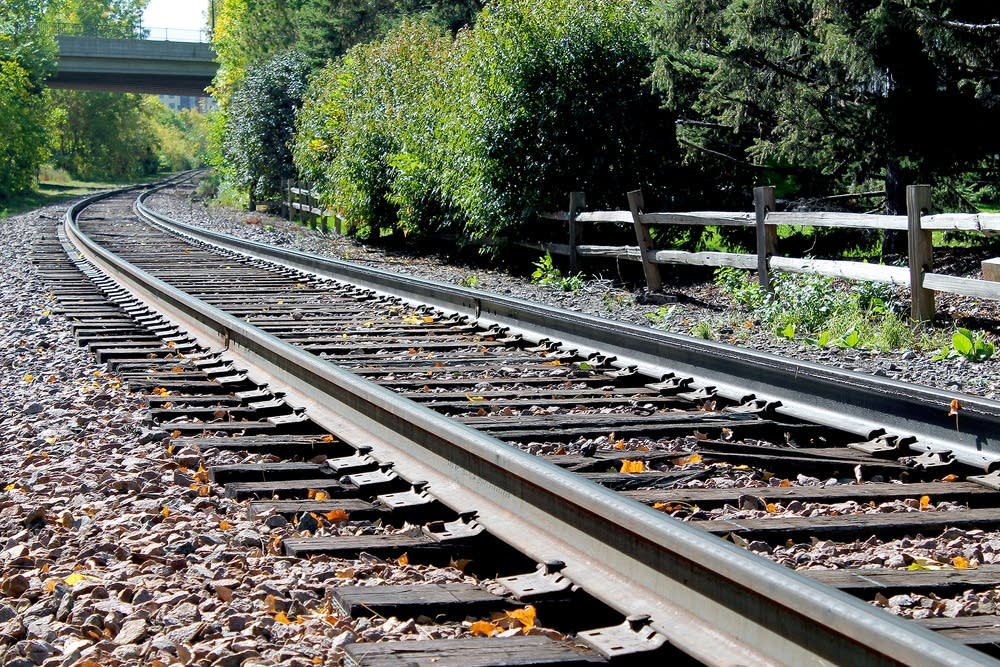 Freight rail track
