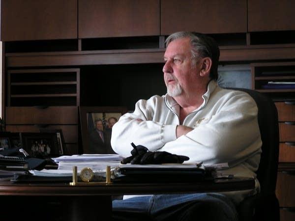 Fargo mayor Dennis Walaker in 2009