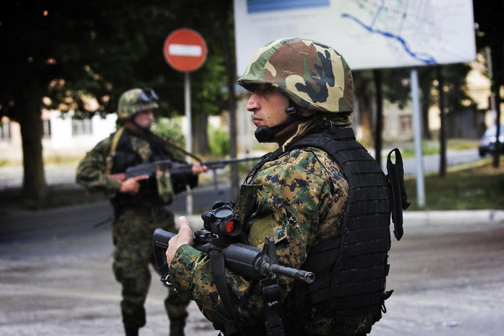 Members of the Georgian Special Forces
