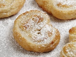 Almond Palmiers
