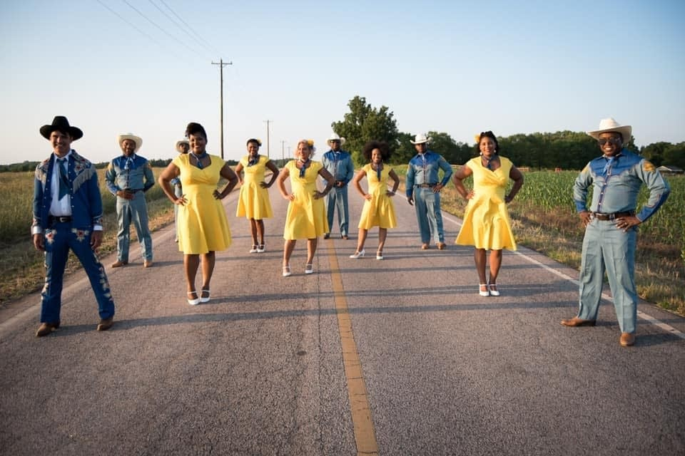 Purple Charlotte Steppers Club in Avett Brothers video
