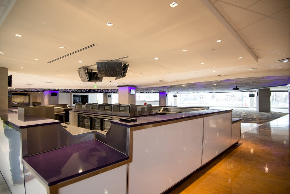 The Hyundai Club at U.S. Bank Stadium