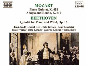 Wolfgang Amadeus Mozart - Quintet for Piano and Winds: II. Larghetto
