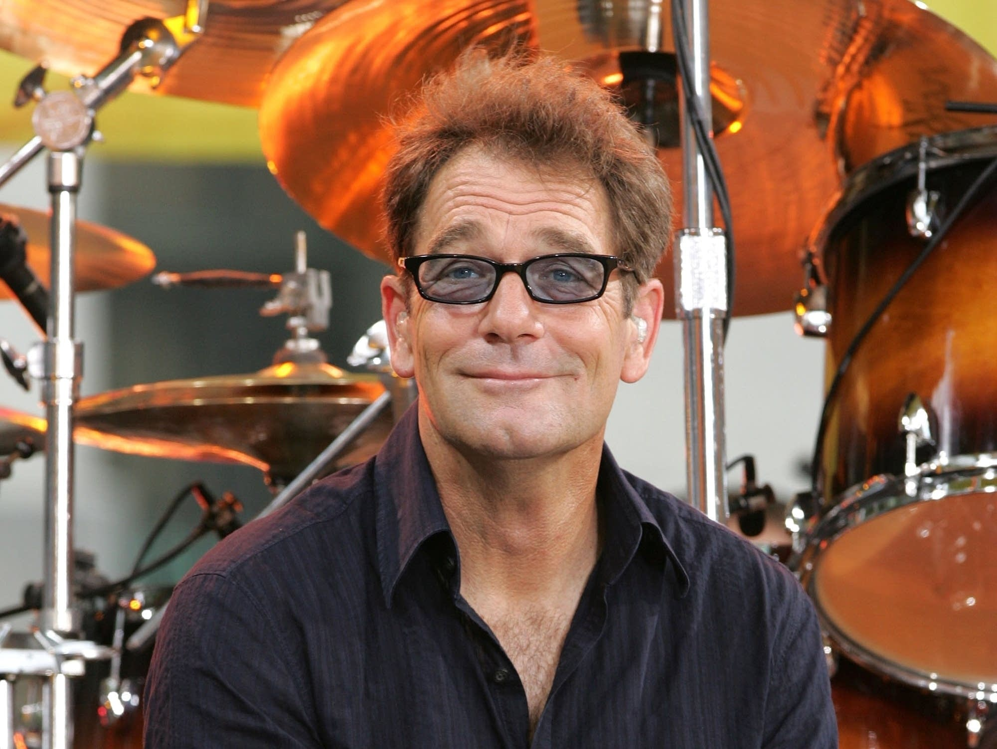 Huey Lewis on 'Good Morning America' in 2006.