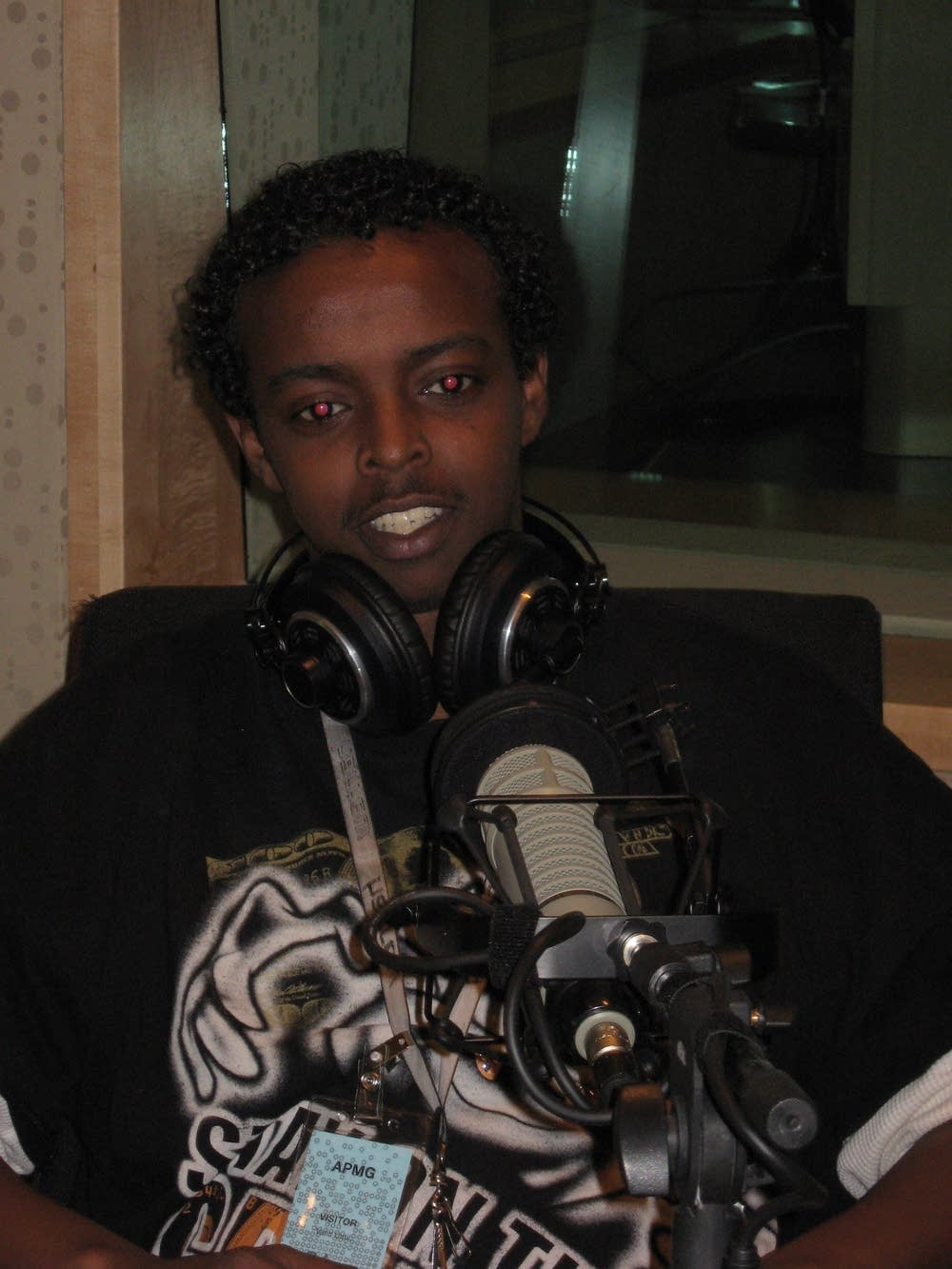 Liban Hassan, an 18-year-old Somali teen