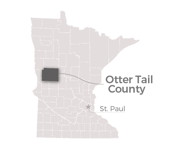 Map: Otter Tail County