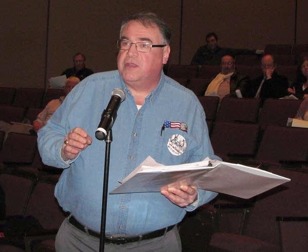 St. Paul resident Greg Copeland