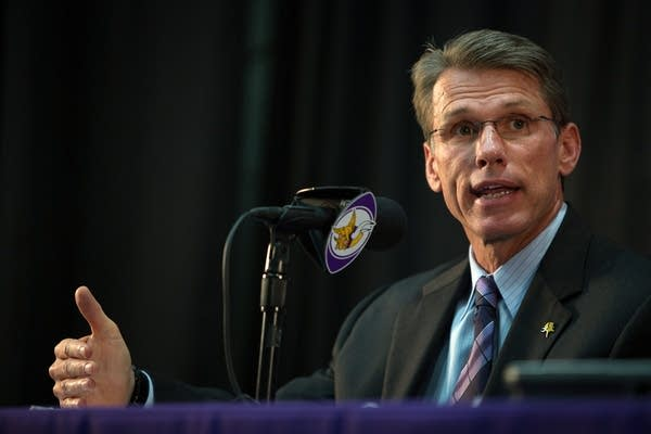 Vikings general manager Rick Spielman