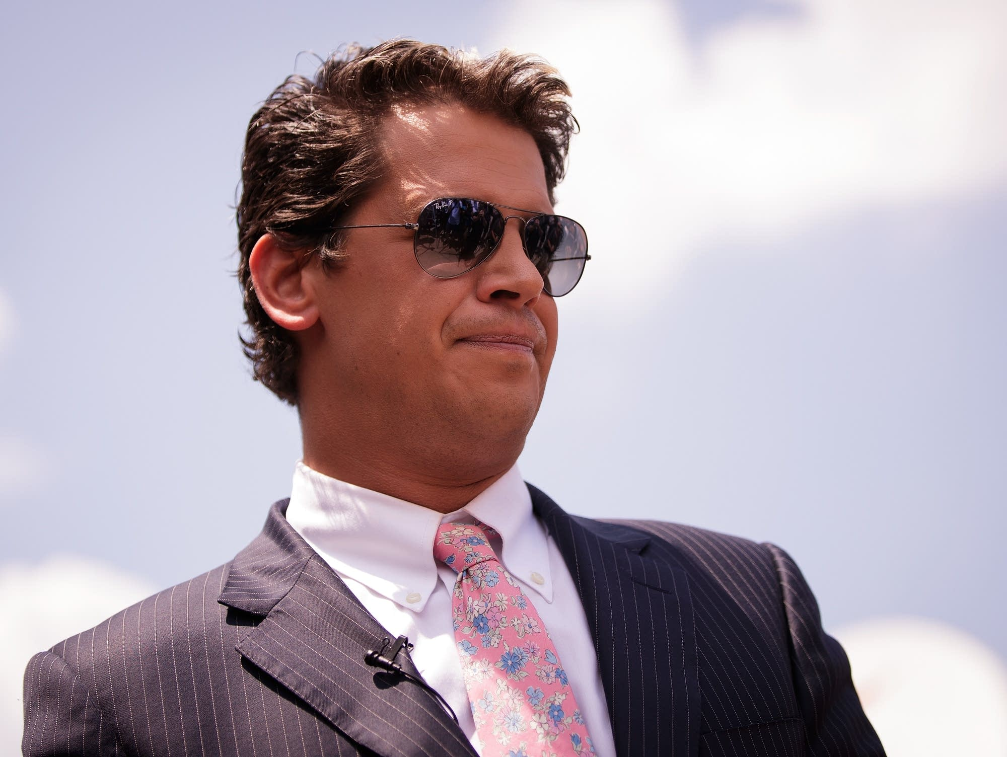 Milo Yiannopoulos, a conservative columnis