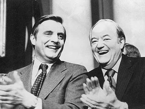 Mondale and Humphrey