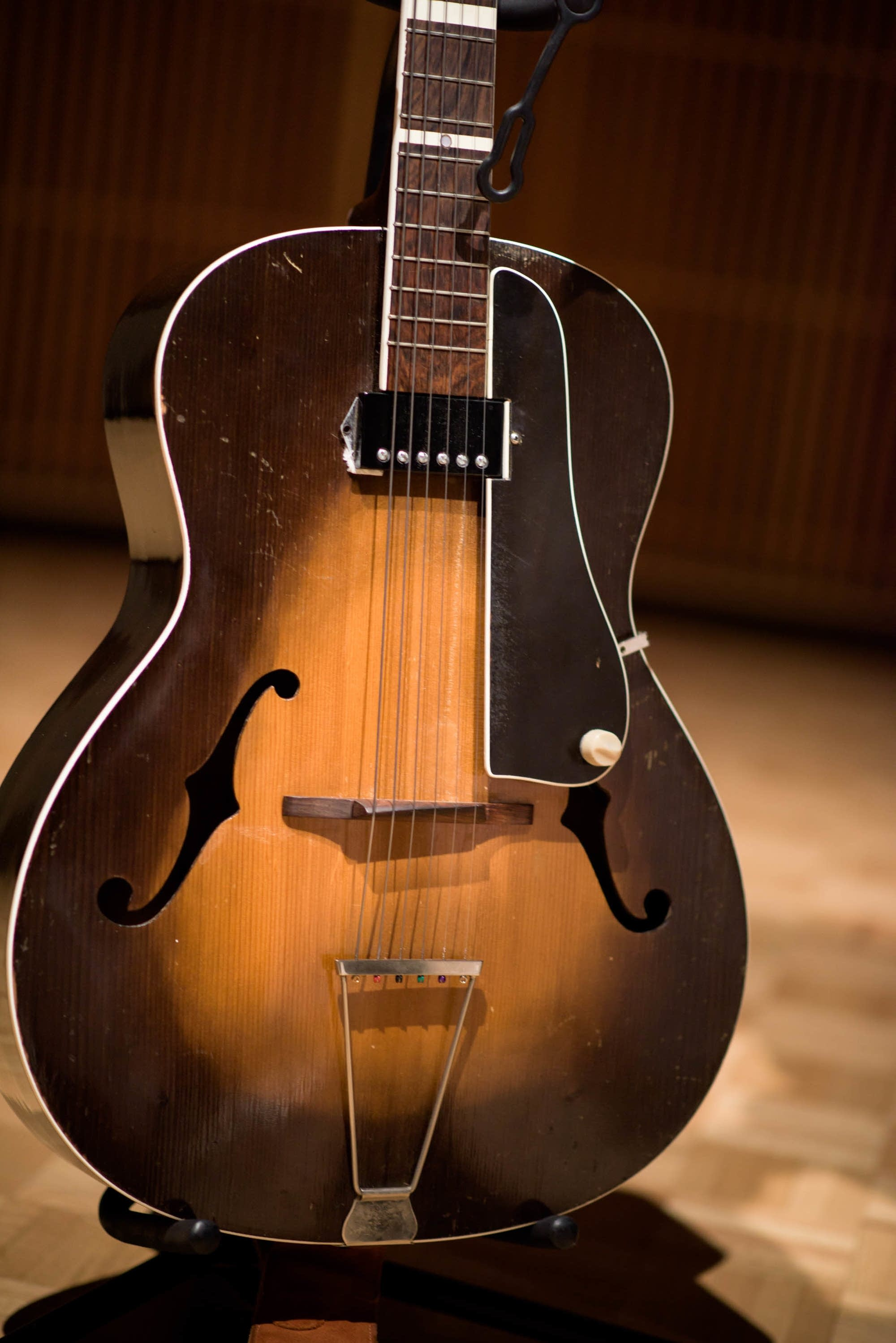 1956 Yngve Barslev Jazz Guitar