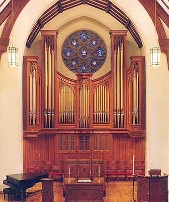 1998 Casavant organ, Op. 3767, at First Presbyterian Church, Rochester, MN