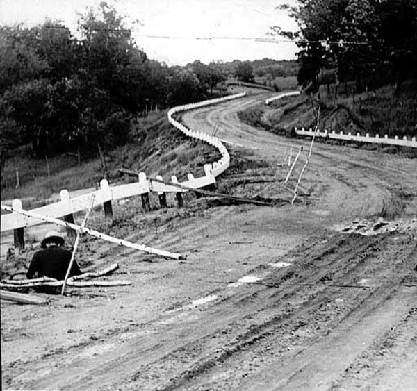 Historical pothole