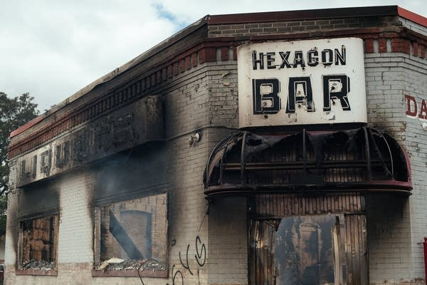 Hexagon Bar burned.