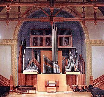 1950 Holtkamp organ in Setnor Auditorium, Crouse College, Syracuse University, Syracuse, New York.