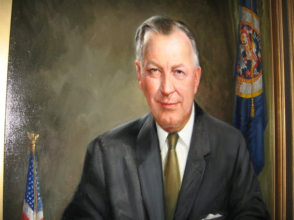 Portrait of Elmer L. Anderson