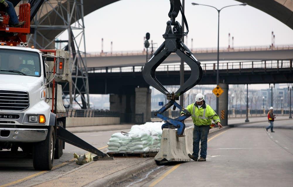 Constructing a barrier