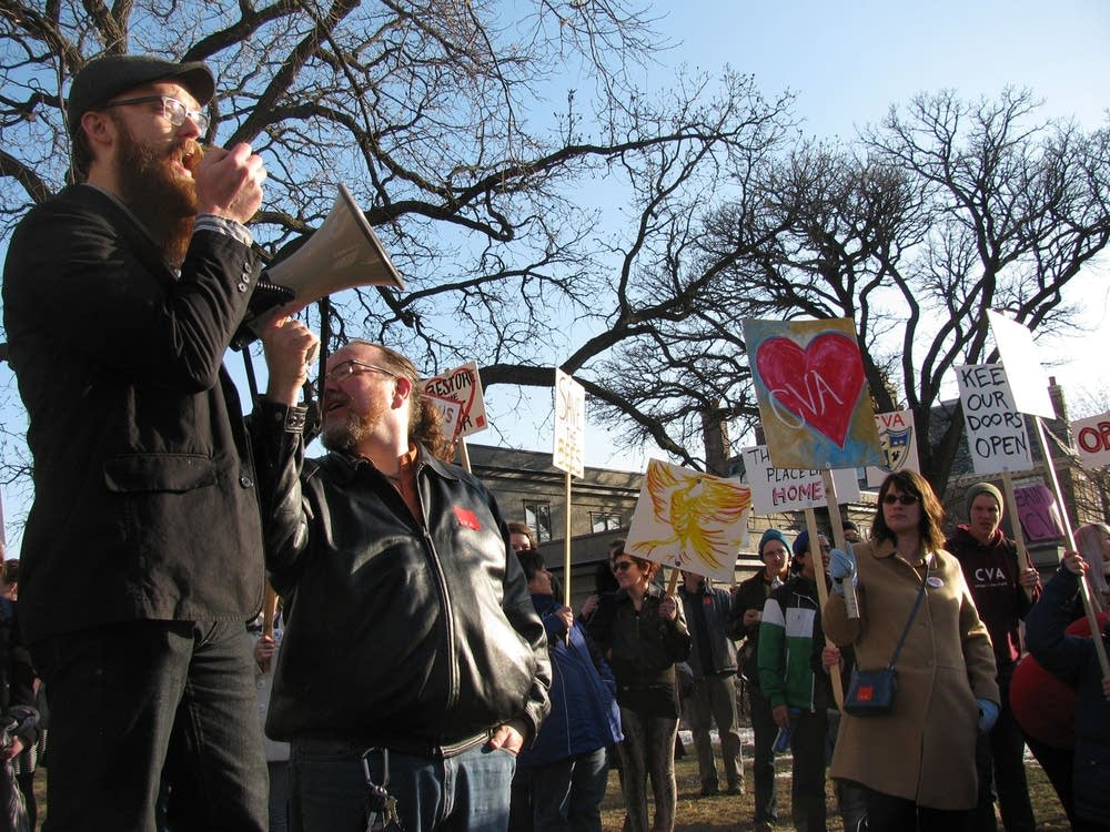 Rally at College of VIsual Arts