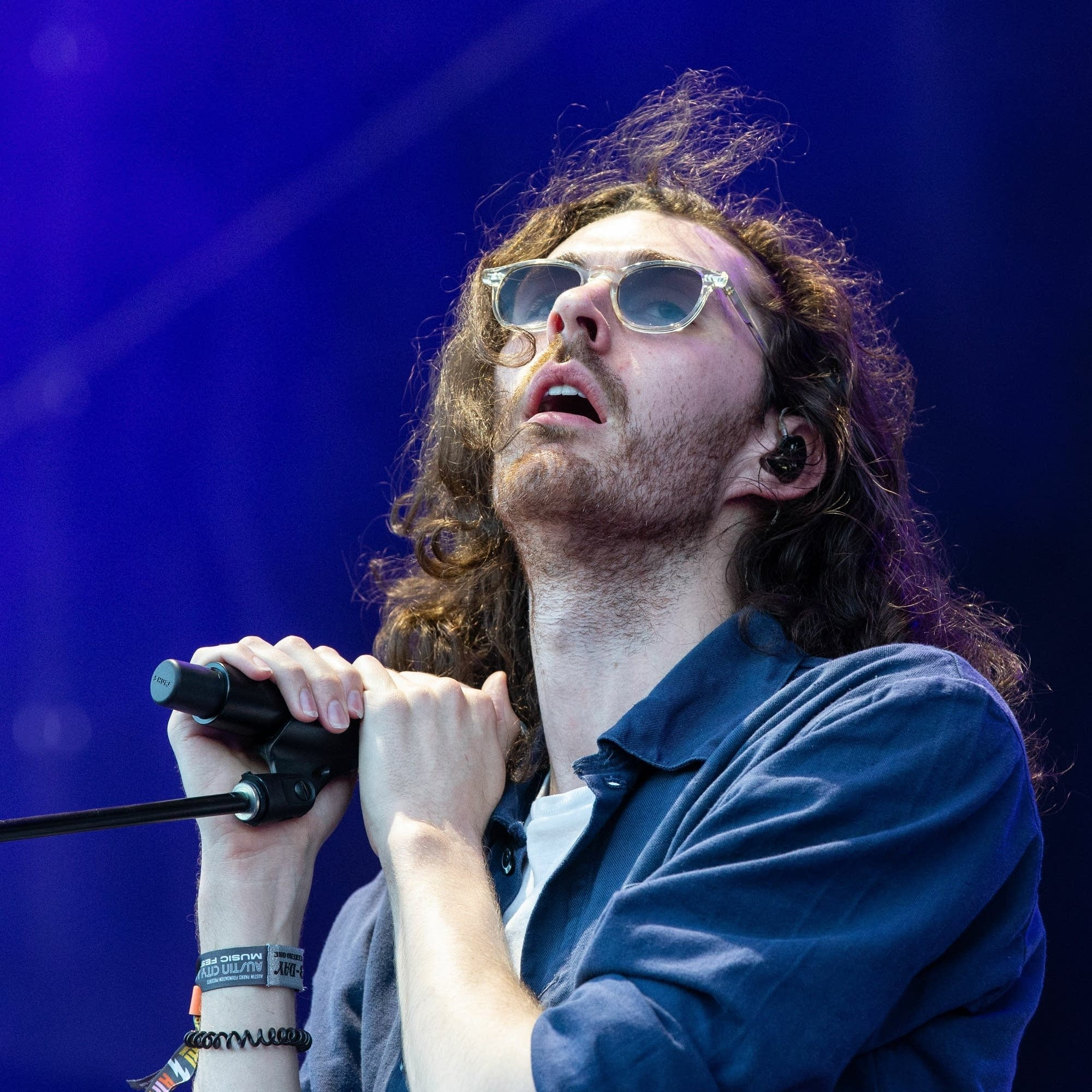 Hozier performs in Austin, Texas, 2018.