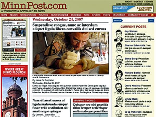 MinnPost is a nonprofit online news site