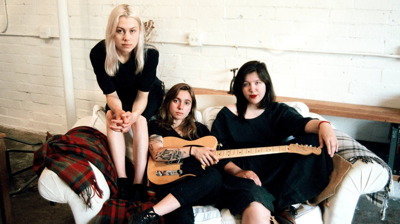 Boygenius are Phoebe Bridgers, Julien Baker and Lucy Dacus