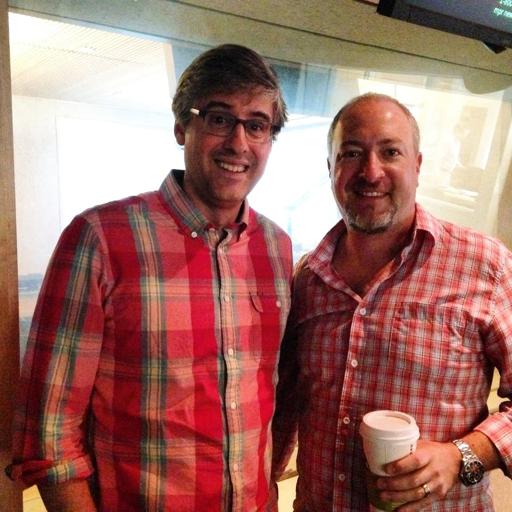 Mo Rocca, Russell Klein