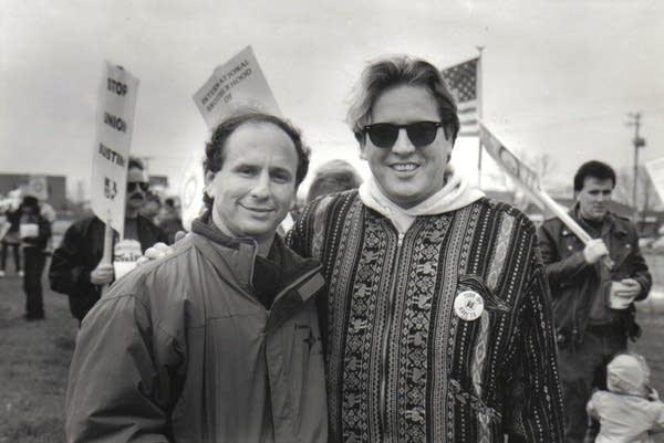 Paul Metsa, Paul Wellstone