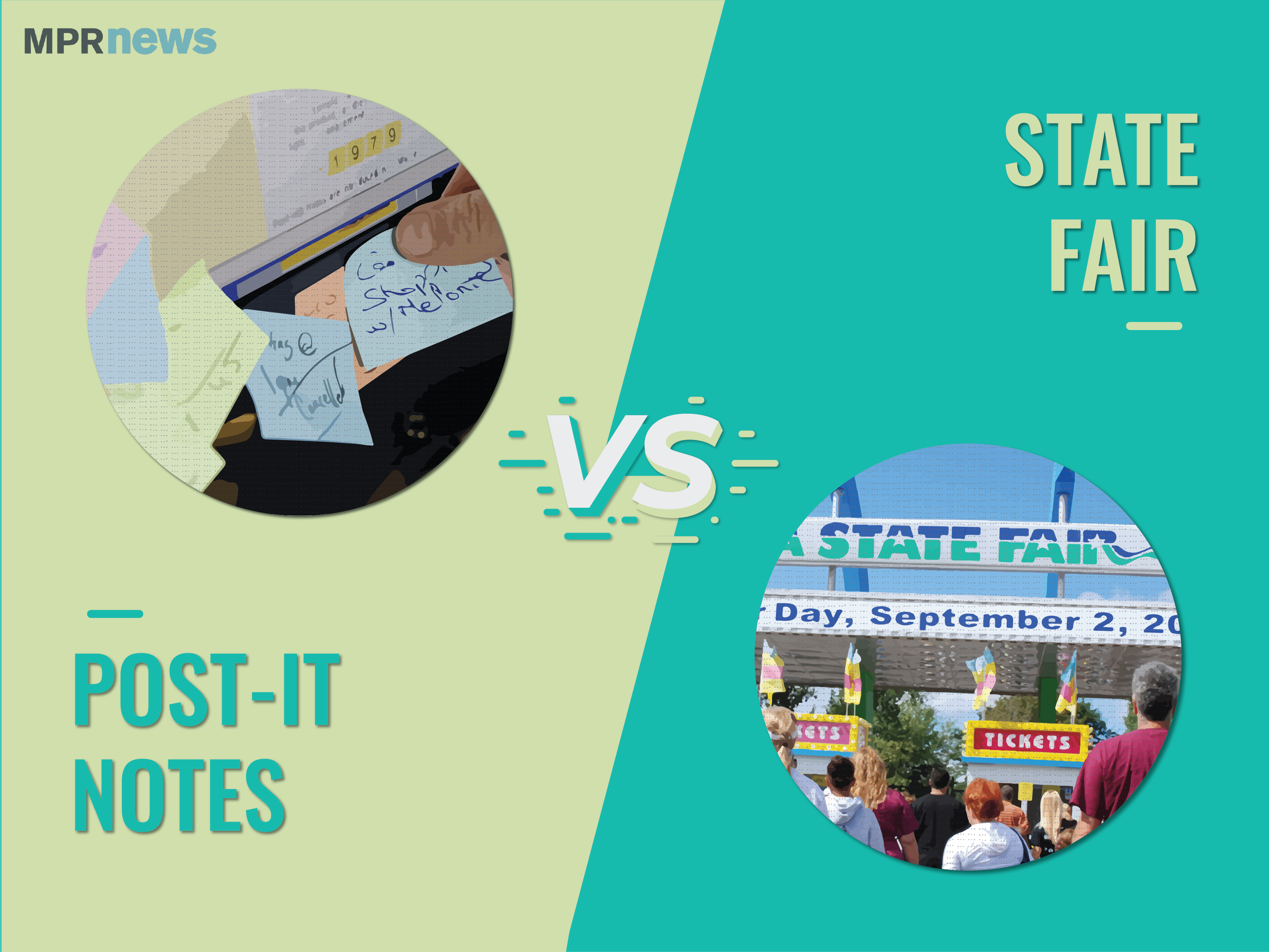 Minnesota Made Matchup: State Fair vs. Post-It Notes