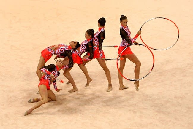 Olympics Day 14 - Rhythmic Gymnastics