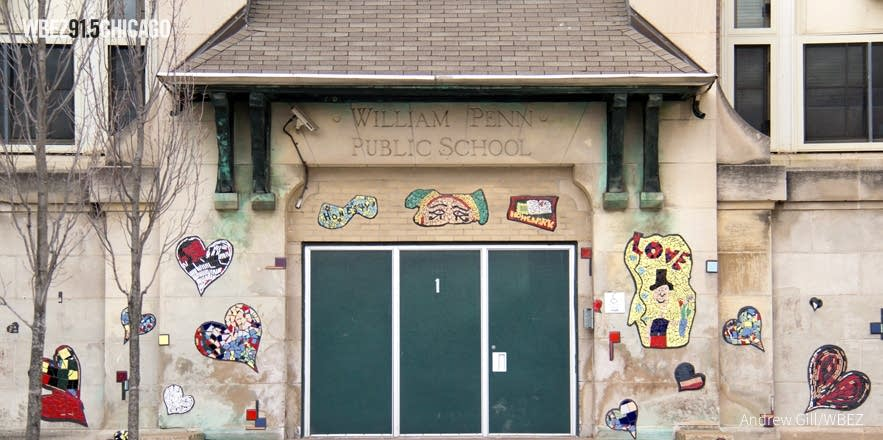 William Penn Elementary School in Chicago