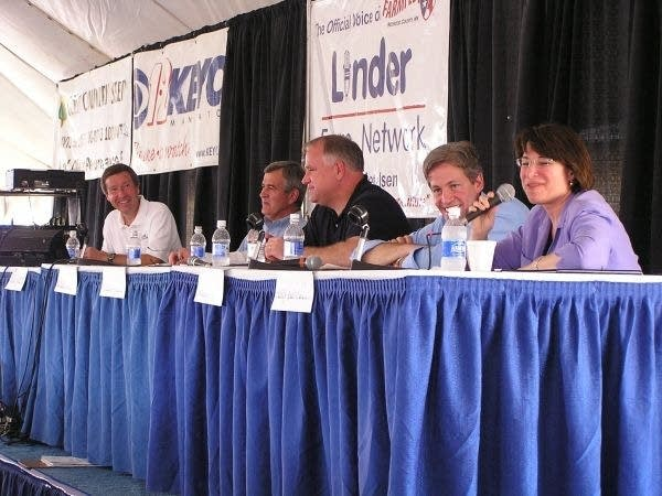 Farmfest political panel