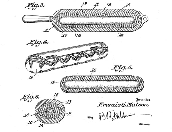 Close-up from U.S. Patent 1492603A