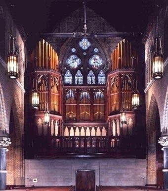 2000 Reuter organ at First Presbyterian Church, Philadelphia, PA