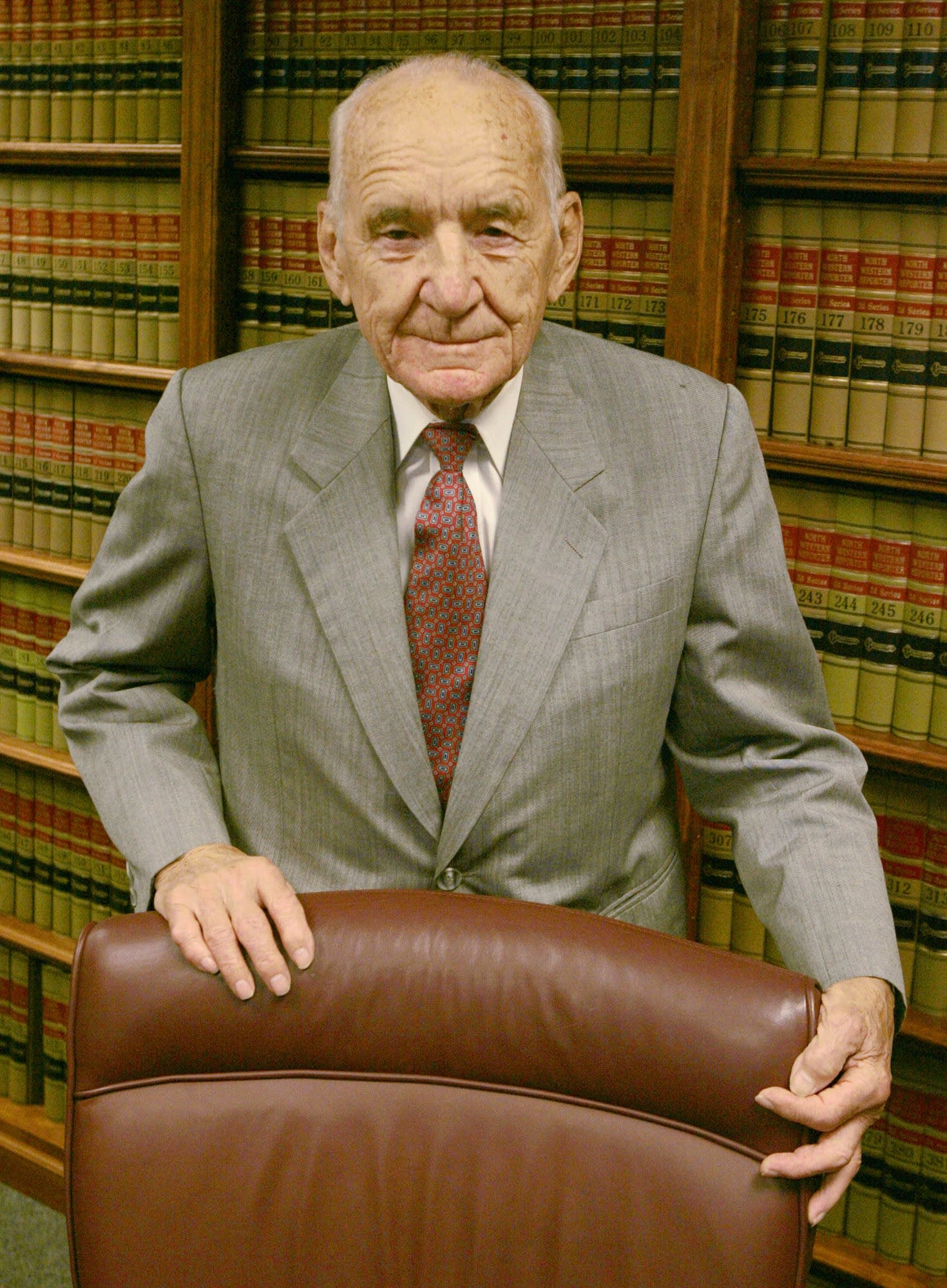Retired Judge Miles Lord in 2005