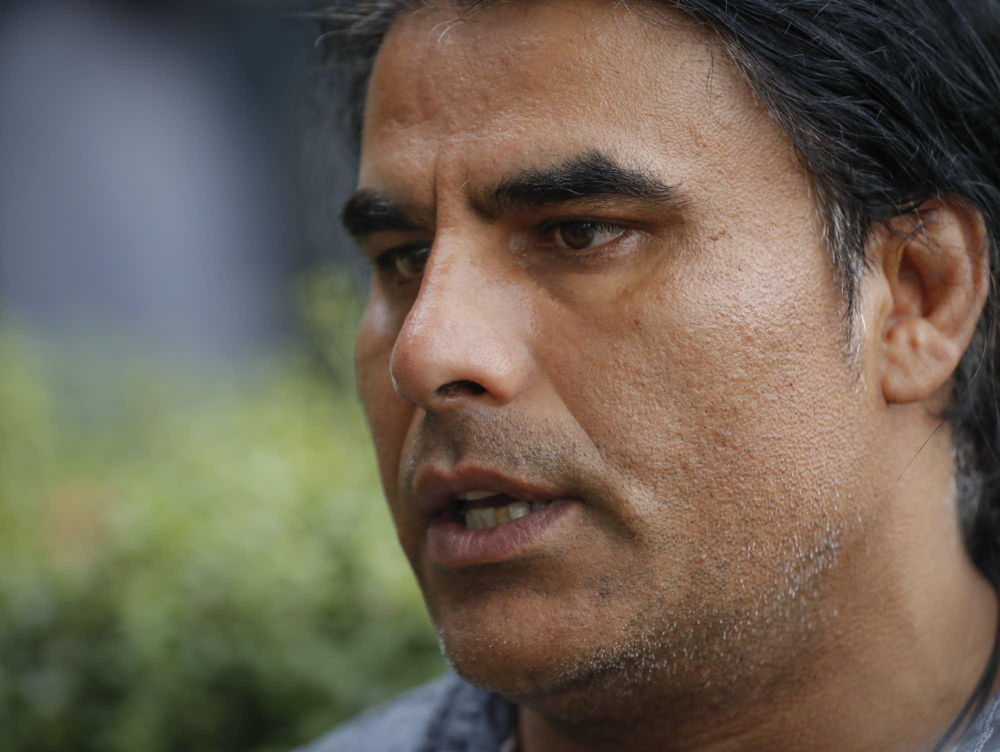 Abdul Aziz, a survivor of the mosque shootings in New Zealand