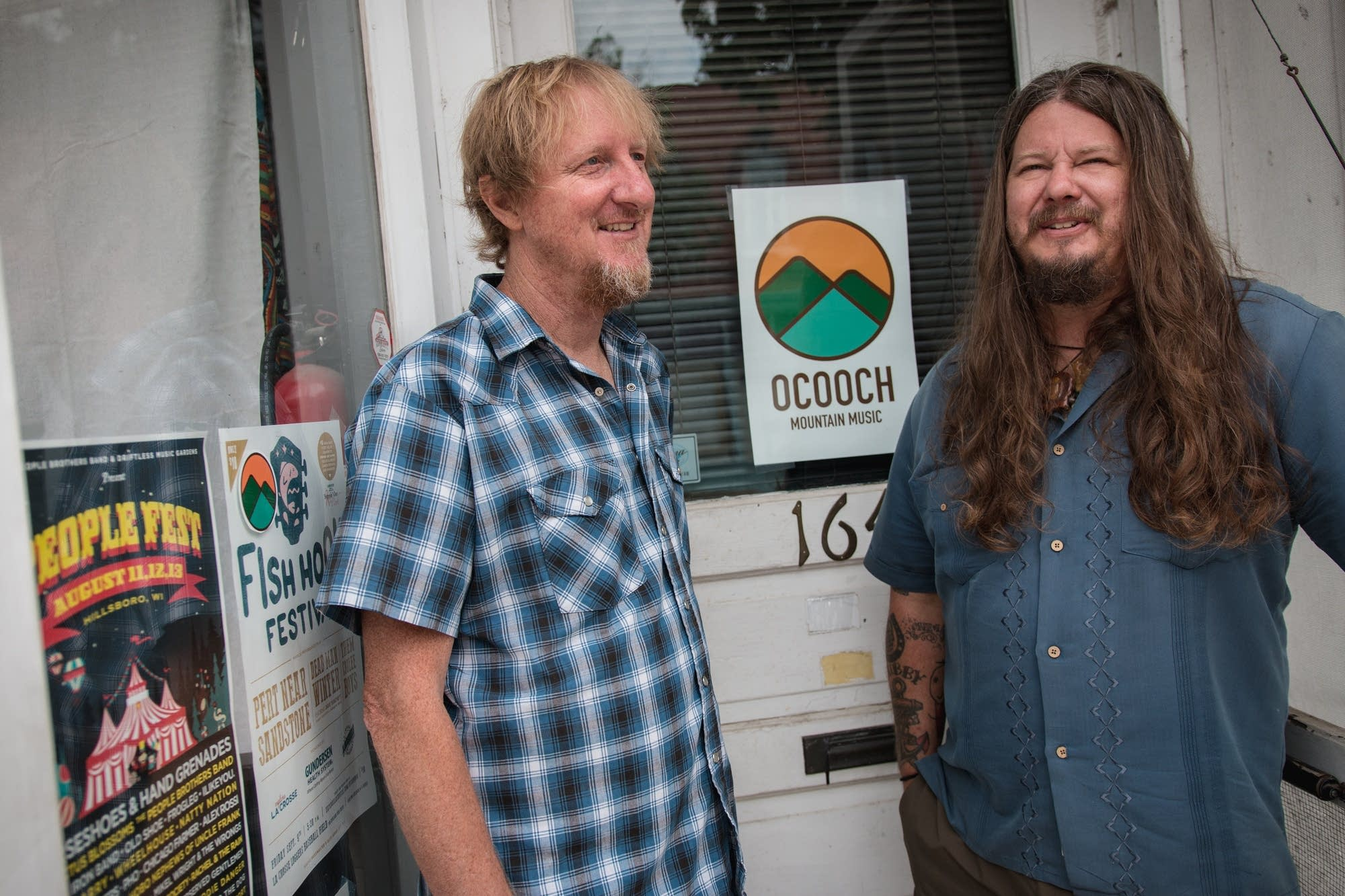 Parker Forsell and Pete Engen of Ocooch Mountain Music