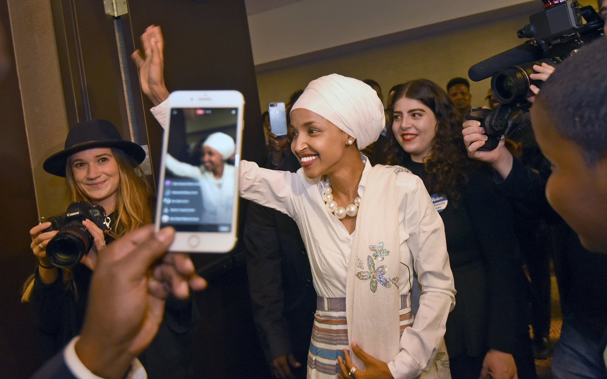 Omar becomes nation's first Somali-American lawmaker