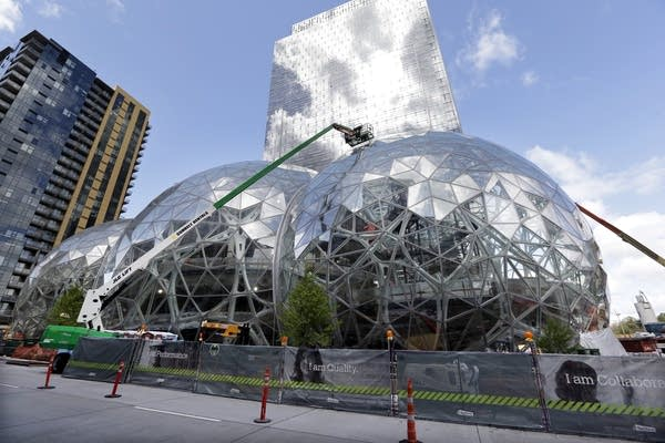 Amazon's corporate campus in Seattle