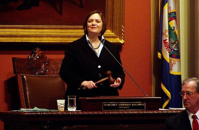DFL House Speaker Margaret Anderson Kelliher